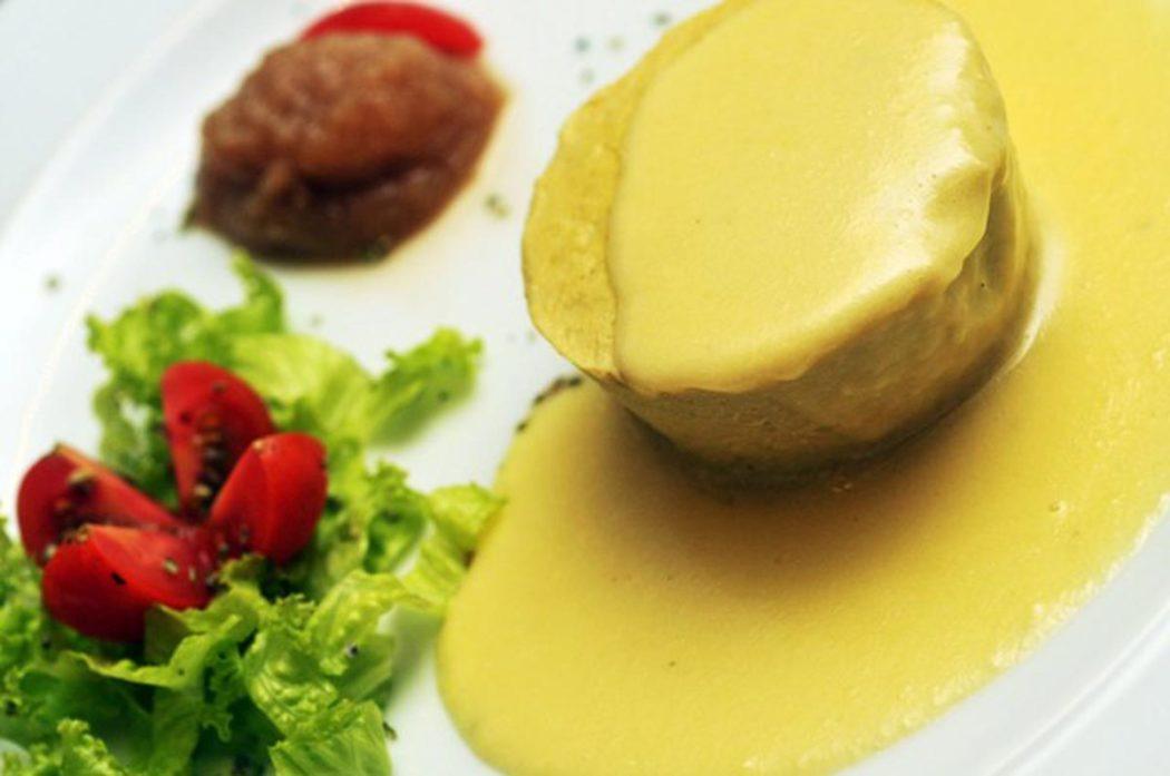 Flan de aspargos do Il Borgo del Conte. Foto Bruno de Lima - www.brunodelima.com - contato@brunodelima.com - (21) 8367-5870