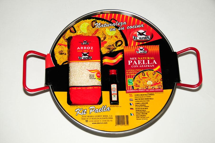 Kit para paella