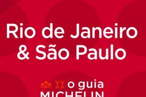 A capa da primeira edição do Guia Michelin no Brasil