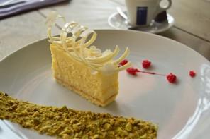 A torta di caffè e cioccolato bianco é uma ótima pedida para a sobremesa (foto: divulgação)