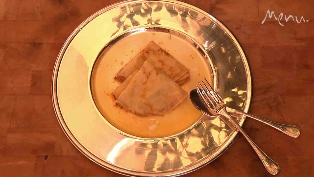 Vídeo: Como preparar o clássico crepe suzette. Foto: reprodução Youtube