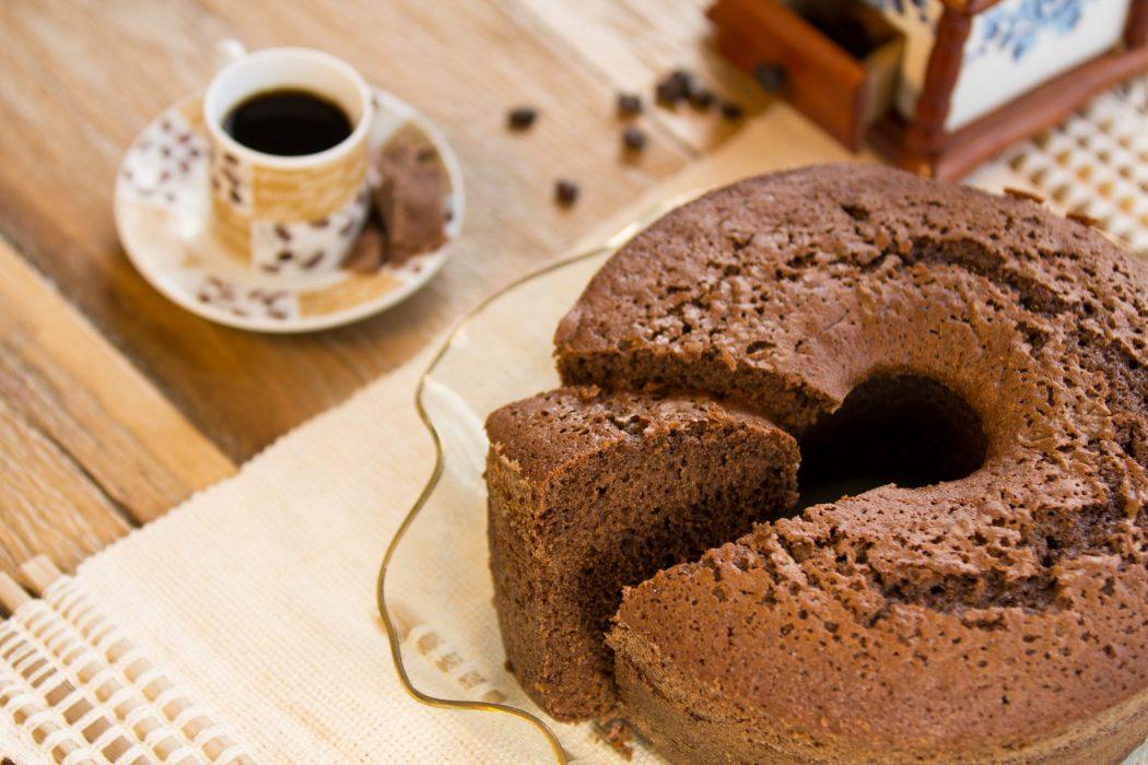 Receita de bolo de cappuccino