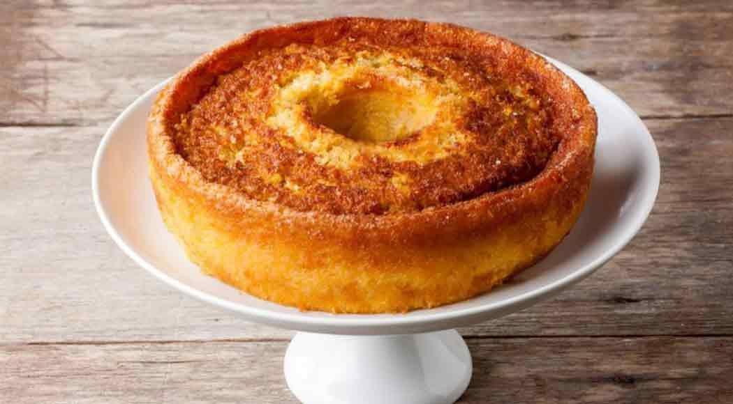 Bolo de milho cremoso com queijo meia cura (foto: divulgação)