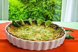 Receita de cheesecake de limão, simples e rápido (Foto: Divulgação)