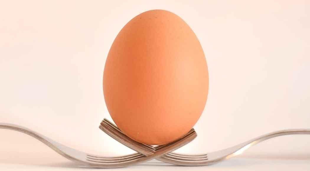 Receita de farofa de ovos