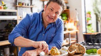 Receita muito fácil de pão caseiro do Jamie Oliver. Foto: Sam Robinson/ Channel 4