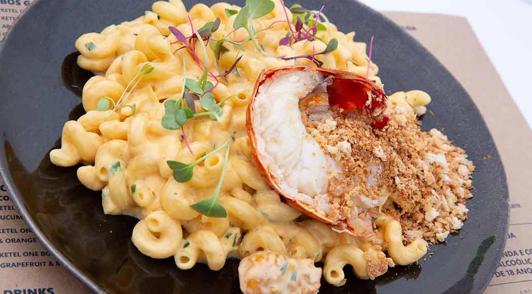 Receita de Mac'n Cheese com lagosta. Foto: Divulgação