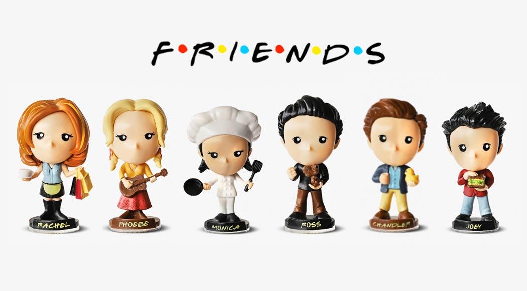 """Bob's lança brinquedos para celebrar episódio especial de """"Friends"""""""