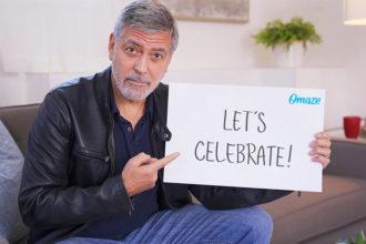 Site sorteia almoço com George Clooney na casa do ator na Itália