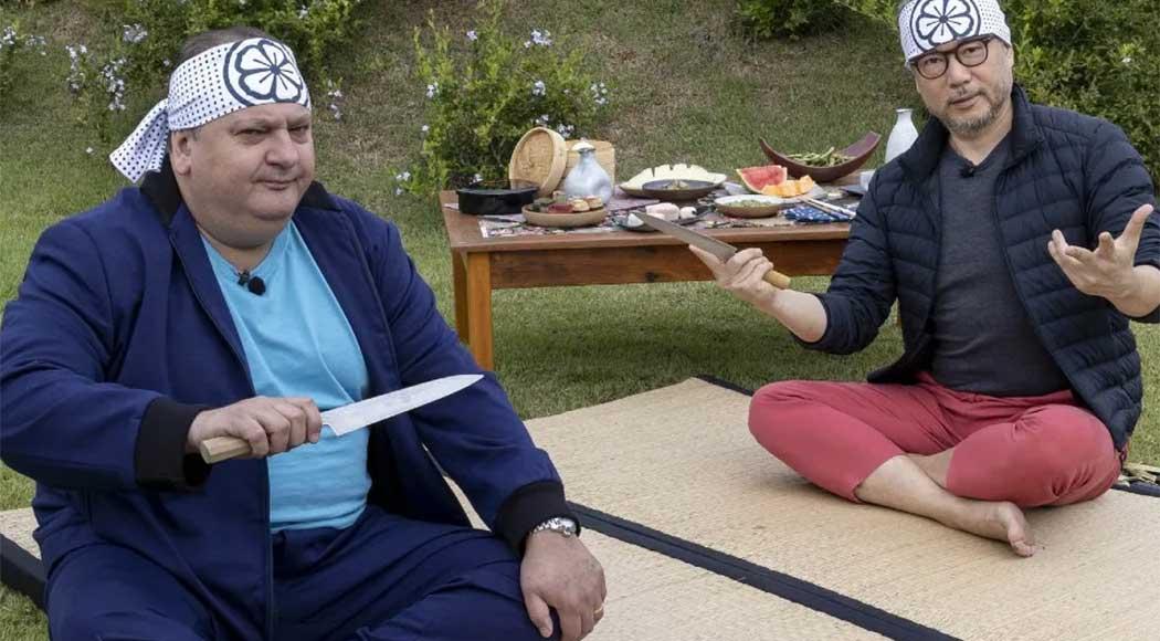 """Jacquin explora culinária japonesa em novo episódio do """"Minha Receita"""""""