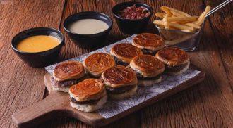Fondue de hambúrguer