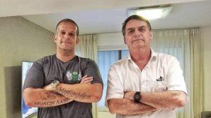 Foto de Bernardo ao lado do presidente Jair Bolsonaro circula nas redes