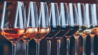 Única taça é perfeita para vinhos tinto, rosé, branco e espumante