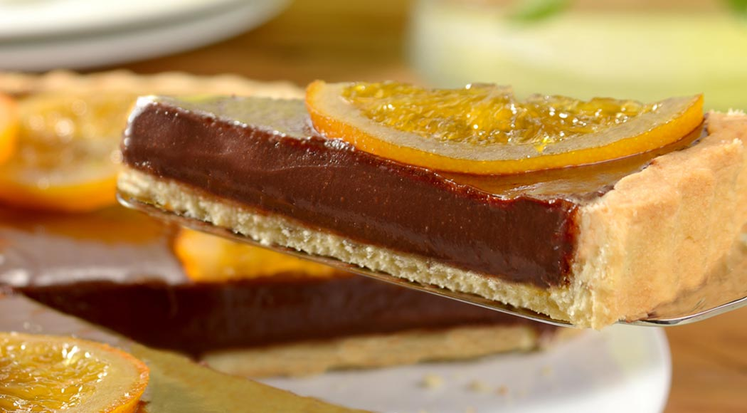 Torta de chocolate com laranja, por Harald (Foto: Divulgação)
