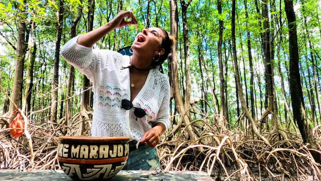 Viagem gastronômica ao Marajó tem caça a turu no mangue e caranguejo na praia