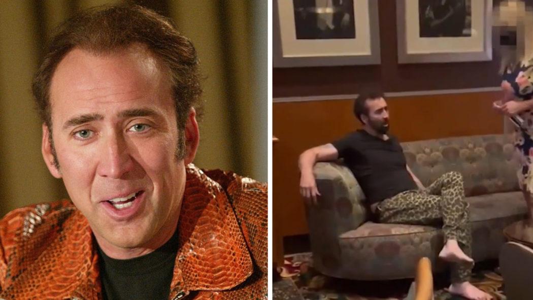 Confundido com mendigo, ator Nicolas Cage é expulso de restaurante (Foto: Divulgação/Reprodução The Sun)