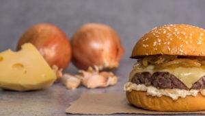 Hambúrguer de cebola (Foto: iStock)