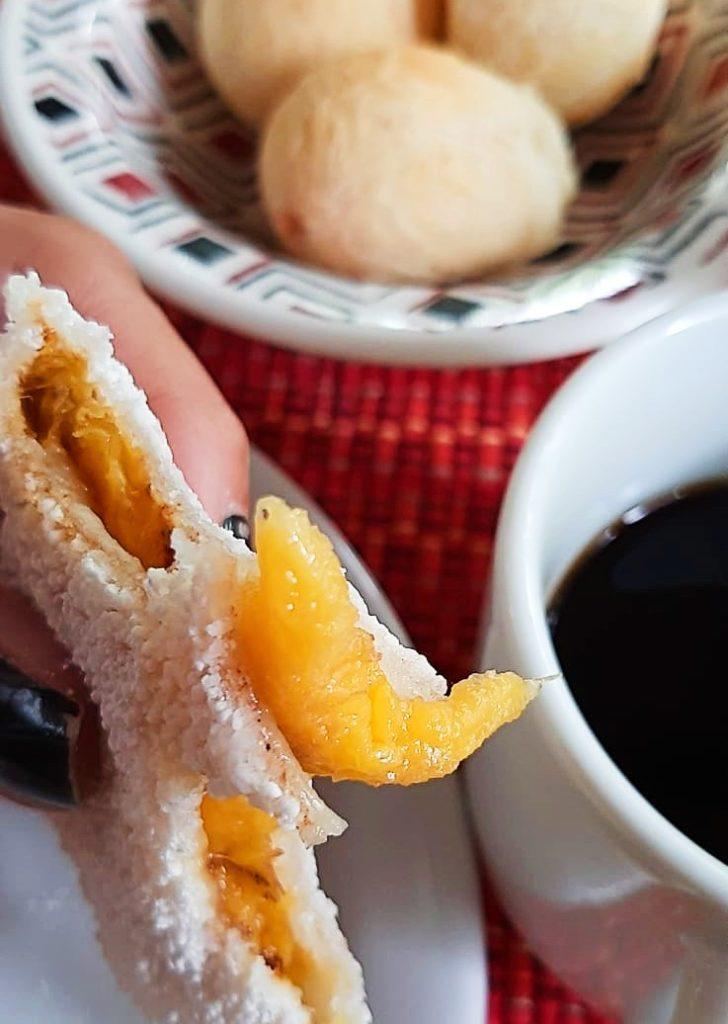 Delicioso café da manhã da Pousada Casa de Paixão