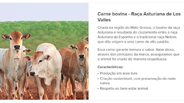 Raça Asturiana de Los Valles no Brasil - projeto exclusivo Carrefour